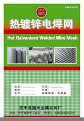 保温材料专用镀锌铁丝网
