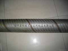 螺旋焊沖孔網網管