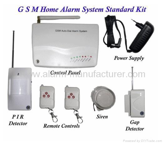 GSM alarm system  4 band 1. GSM alarm system  4 band   IP 602   QH  China Manufacturer