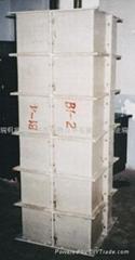 北京玻璃鋼模板價格圓柱模北京石窩鎮永進玻璃鋼制品廠