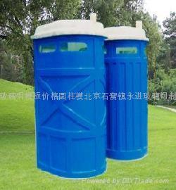 北京石窩鎮永進玻璃鋼制品廠玻璃鋼保溫水箱價格花盆 1