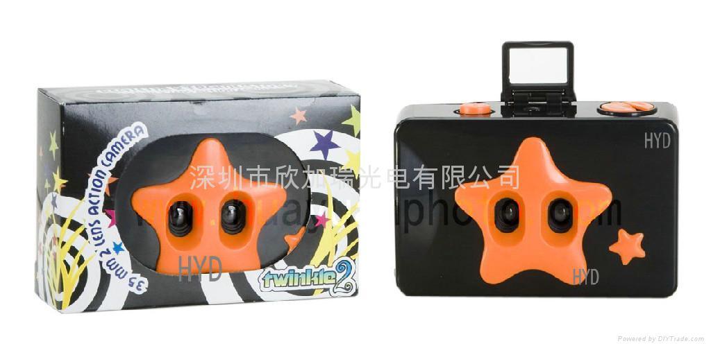 Twins lens LOMO camera,film camera 2