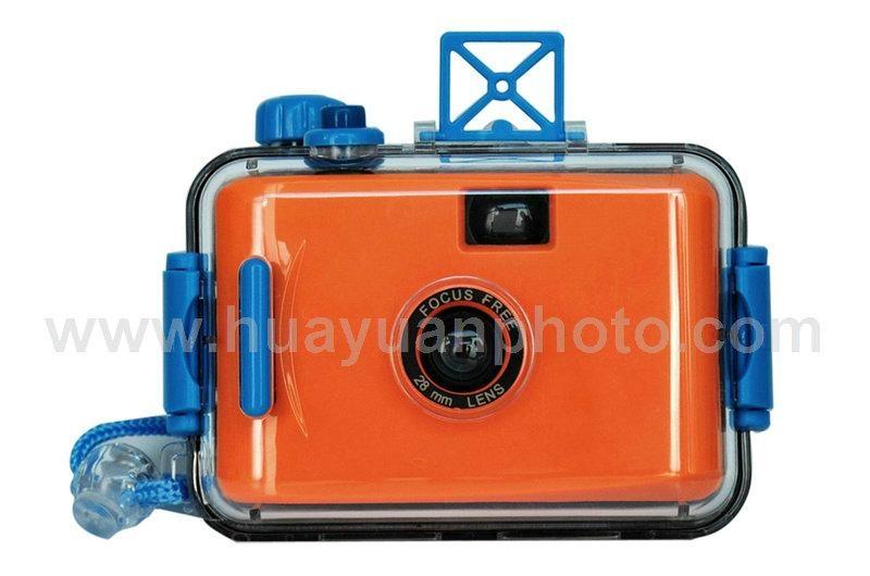 35mm film relodable underwater camera 4