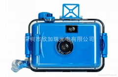 35mm film reusable underwater lomo toy kids camera