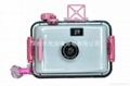 35mm film reusable underwater lomo toy kids camera 3