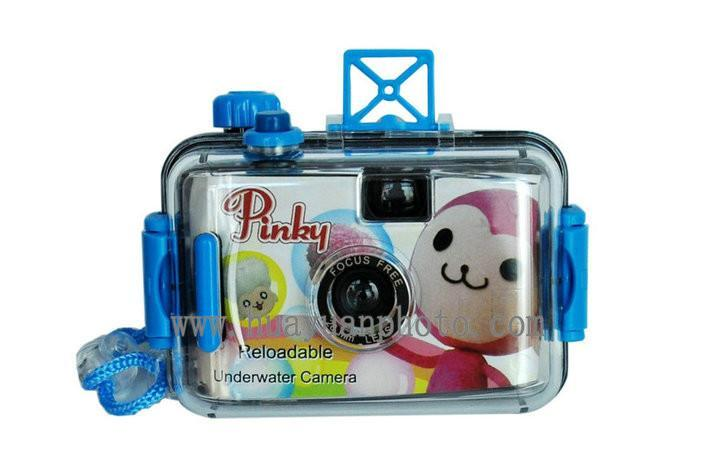 reusable underwater camera without flash 2