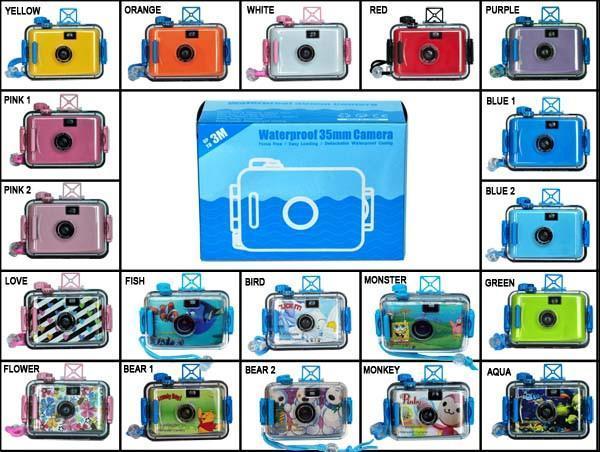 35mm film relodable underwater camera 1