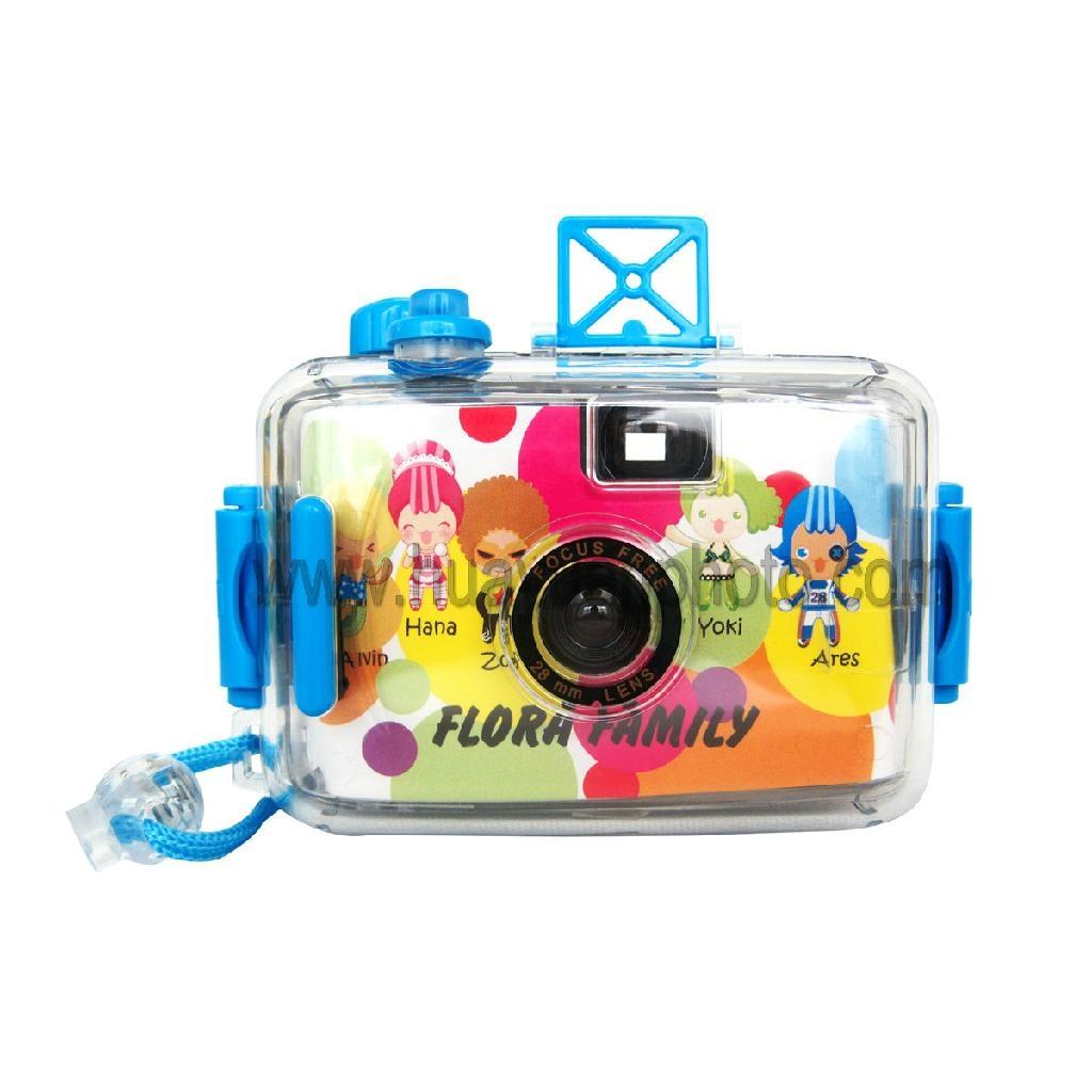 reusable underwater camera 4 meters depth  5