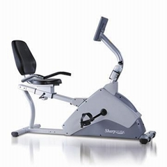 JKEXER Magnetic Recumbent Bike with Multi-Function LCD Computer