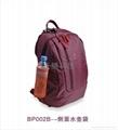 TPOS 情侣笔记本双肩背包(紫霞红) 2