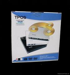 TPOS USB RAMBO  光驅(黑)