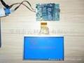 單片機串口液晶屏驅動板(HH-C256A) 2