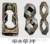 彩磚模具/盲點鋼模具/空心正六鋼模具/麵包磚鋼模具