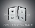 HW-H100 Aluminium Glass Door Hinge Hardware