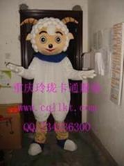 杭州苏州卡通服装动漫卡通人偶服饰,演出服装道具