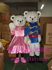 贵州贵阳卡通服装,卡通人偶服饰婚礼熊,动漫卡通玩具服装