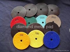 Resin copper diamond pad