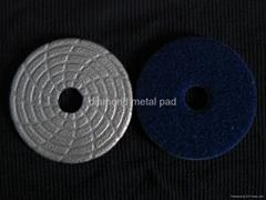 Brazed Polishing Pads Velcro