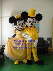 供应山东青岛海洋卡通服装,卡通人偶表演服装,道具服装