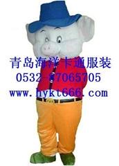 供应青岛海洋卡通服装猪
