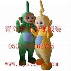 青岛海洋卡通服装天线宝宝