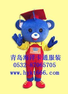 卡通服裝博士熊 1