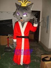 出售卡通服装红太狼