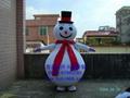 卡通人偶服裝雪人 1