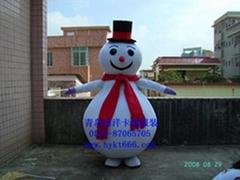 卡通人偶服裝雪人