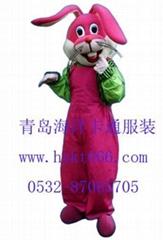 卡通服装红娘兔