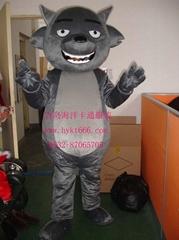 灰太狼卡通服装