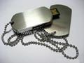 Dog tag USB Fla