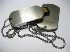Dog tag USB Flash Disk