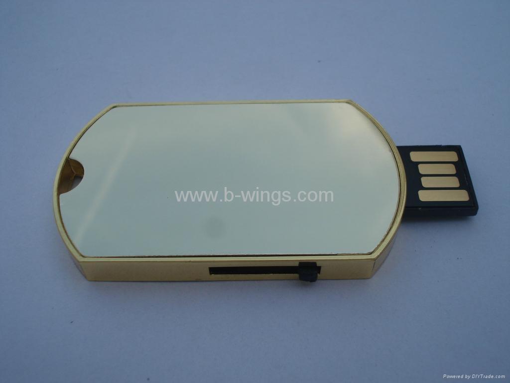 Dog tag USB Flash Disk 2
