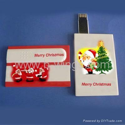 Credit Card USB Flash Driver 3