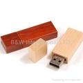 wood USB flash