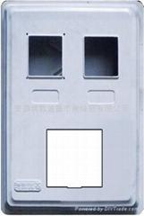电表箱(单相2表位)