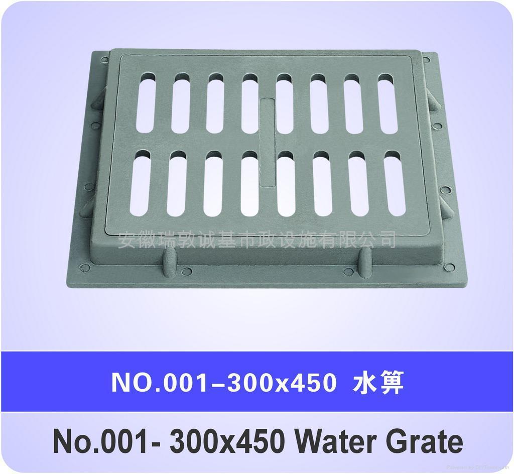 高分子复合井盖(水箅) 1