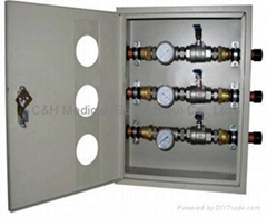 Medical Gases Controlling Va  es Box for Hospital Gases Engineerings