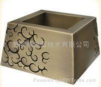 銅染色加工做舊古銅加工各種古銅色