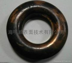 不锈钢铝合金仿古铜颜色加工