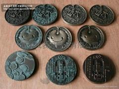 鋁合金型材古銅顏色加工銅門顏色加工