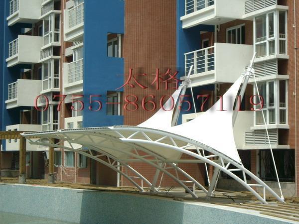 工程設計使用國際最先進的膜結構建模