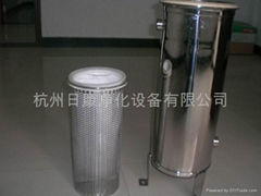 單袋卡箍式過濾器