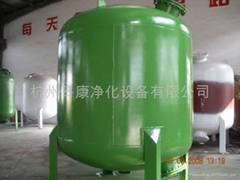 碳鋼襯膠機械過濾器