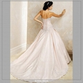 Dignified Bridal Wedding Dress With High-Quality Satin 3