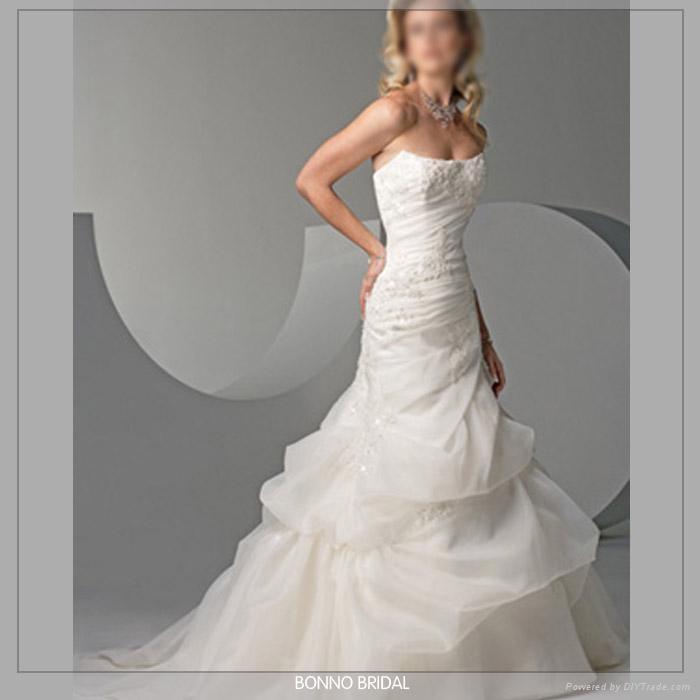 Beautiful Bridal Wedding Dress 5719 3