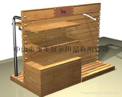 幼儿园自制图书展示台设计