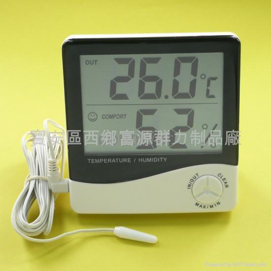 Large display In/Out Hygro-thermometer 1