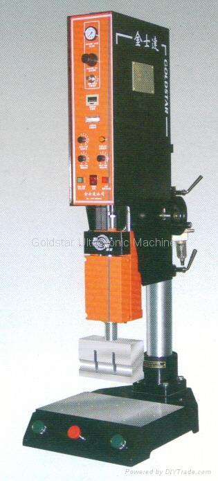 Ultrasonic Welding Machine : Ultrasonic plastic welding machine cr